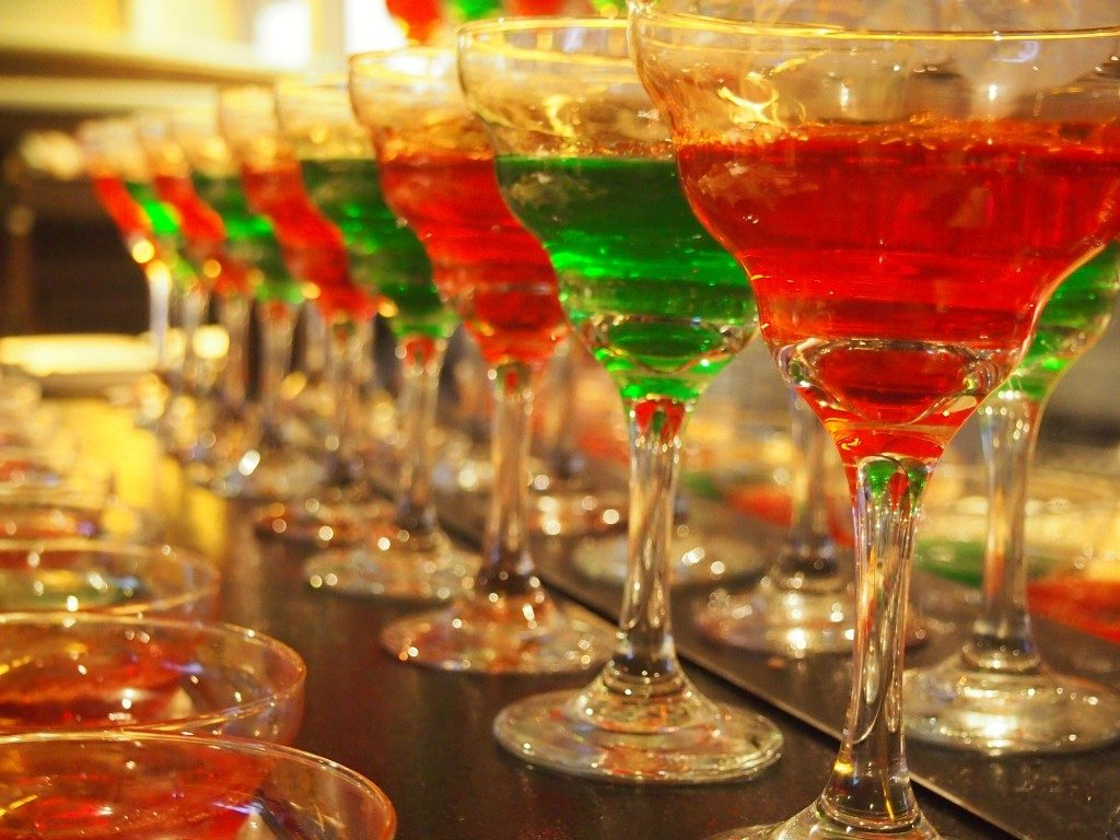 festive holiday drinks - holiday accidents