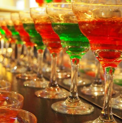 festive drinks - avoid holiday injury lawsuit