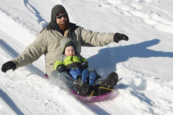 follow sled max capacity to avoid sledding injury