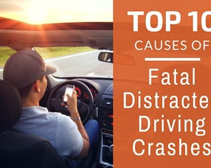 top 10 causes of fatal distracted
