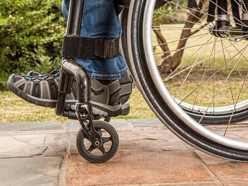 wheelchair bound hit and run injury victim