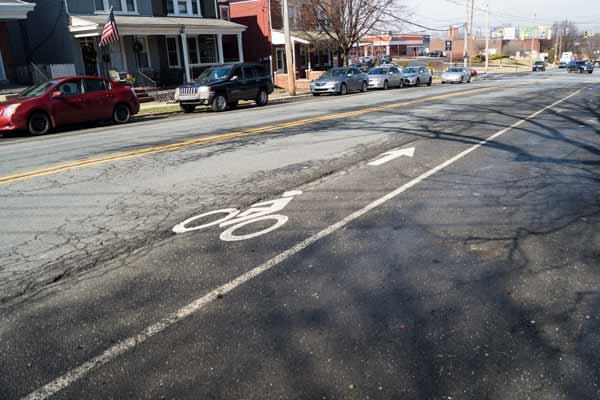 bicycle pothole injury - dangerous bicycle lanes in Philadelphia