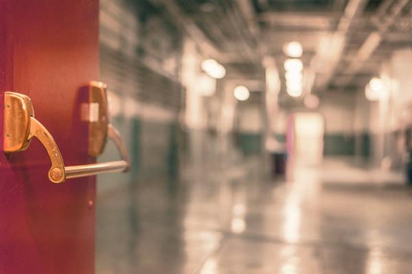 empty new jersey school halls