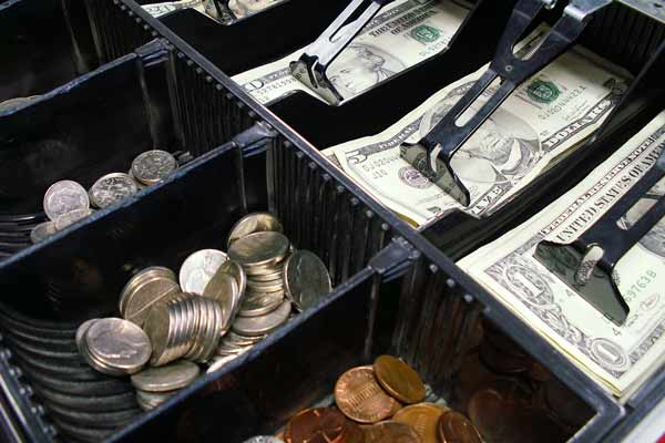 walmart cash register drawer