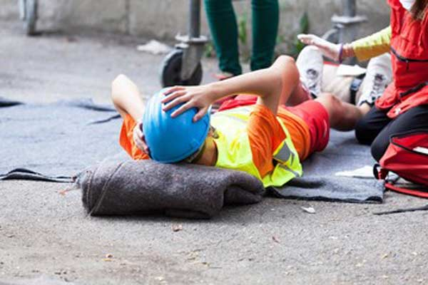 jobsite fall injury