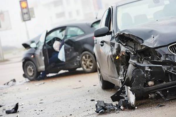 serious car crash