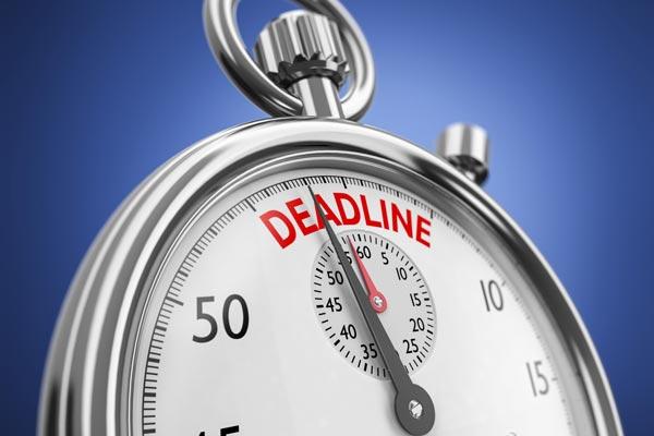 civil lawsuit deadline