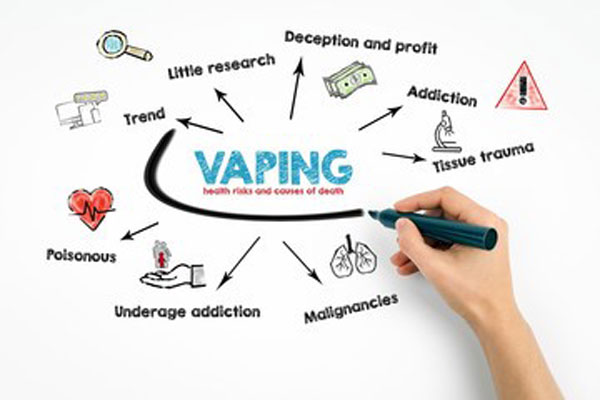 complications and health problems from vaping juul