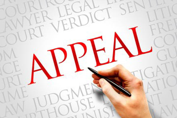 appeals in a personal injury lawsuit